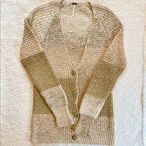 Free People | Cardigan Sweater Size XS